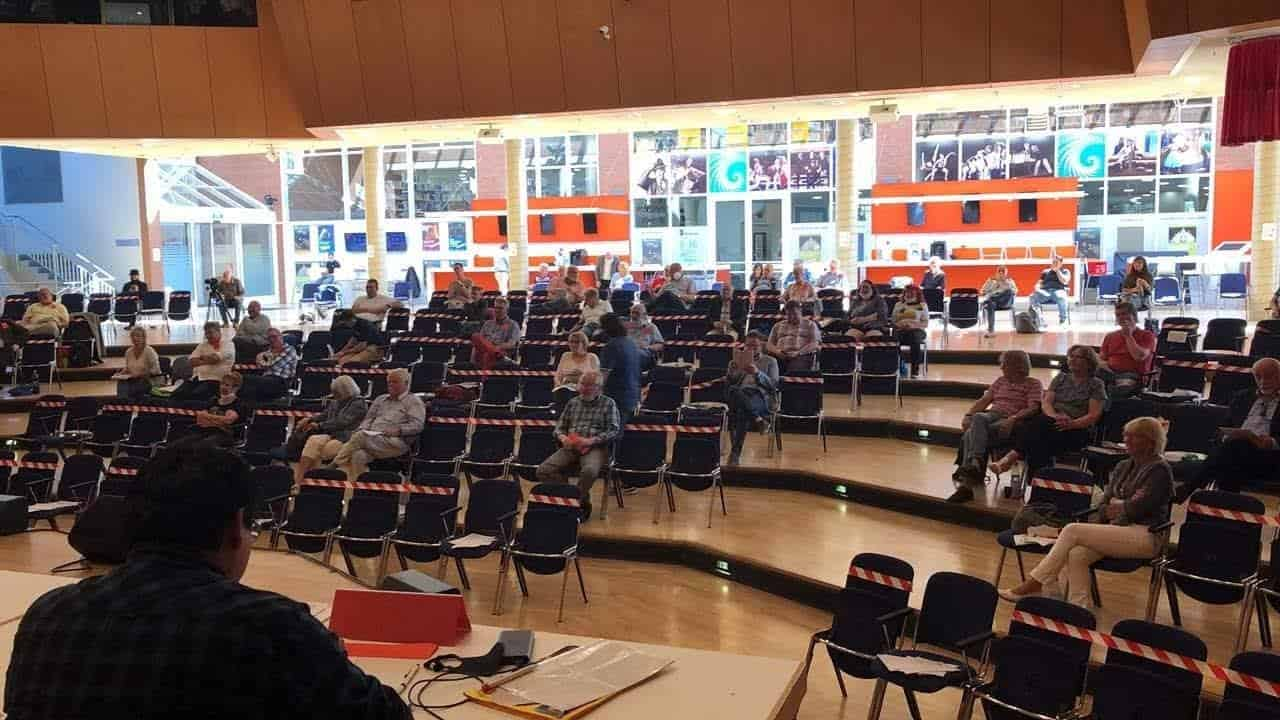 SPD Ortsverein Düren bei der Aufstellung zur Kommunalwahl
